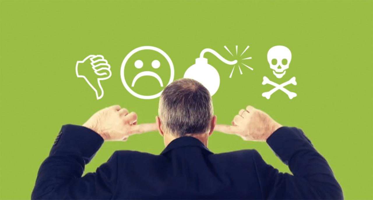 Hantera negativ feedback