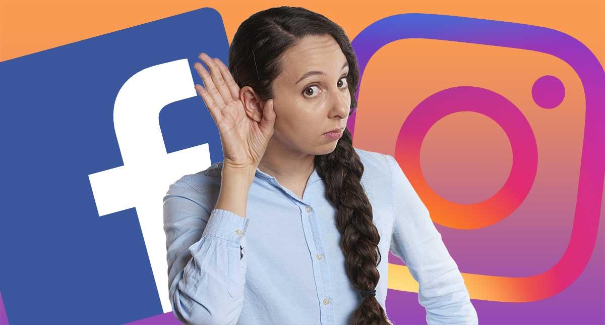 Lyssnar Facebook på oss?