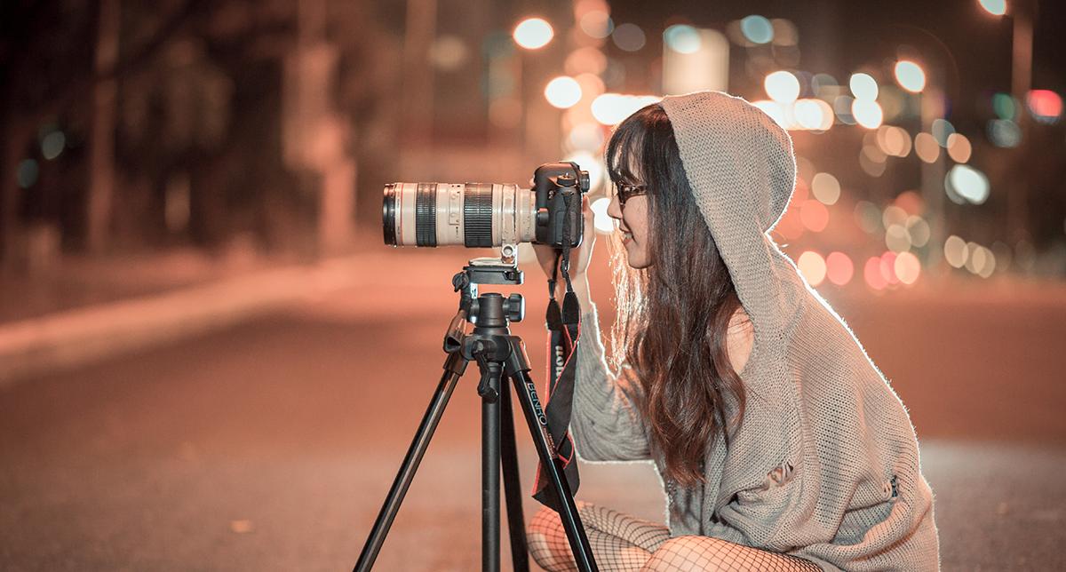 Fota och filma för sociala medier