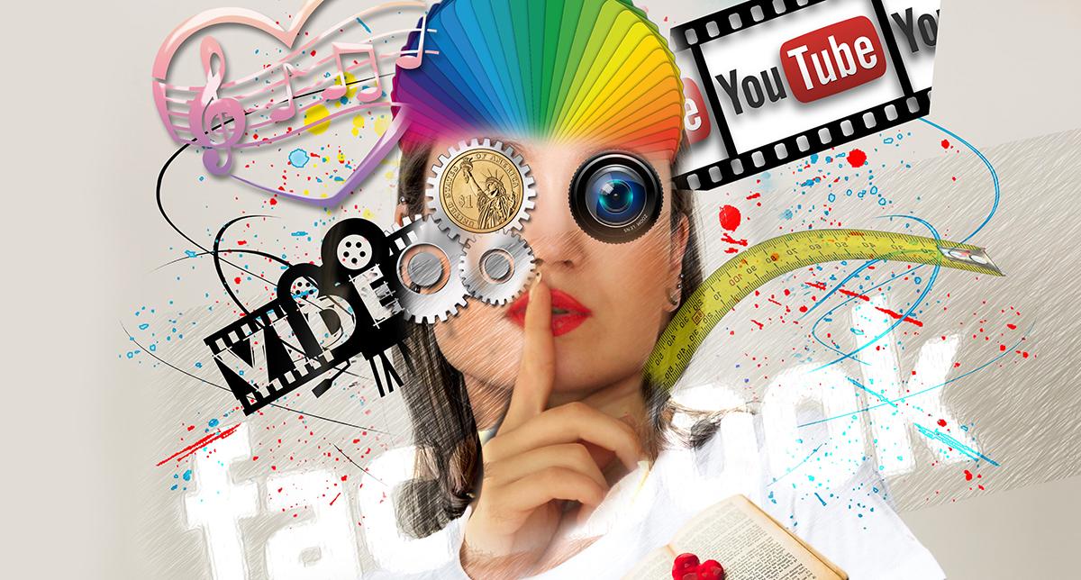 Vinnande material för sociala medier
